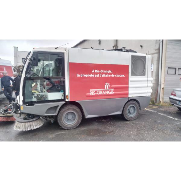 Marquage véhicule entretiens